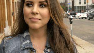 Singer Audrey Callahan