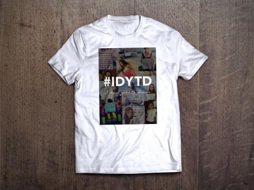 White #IDYTD Tee