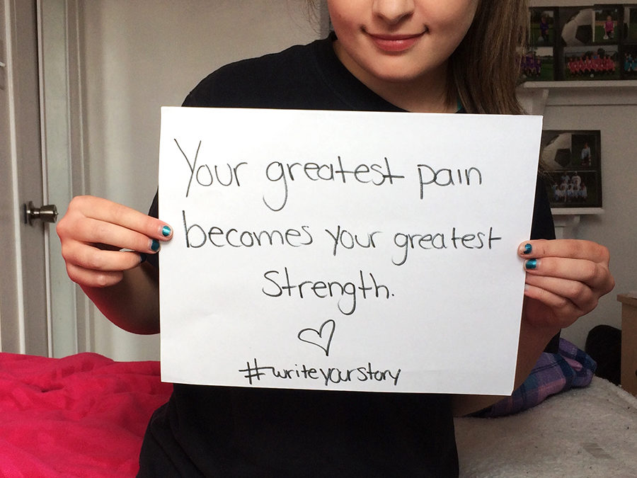 Your greatest pain becomes your greatest strength – Meet Sierra