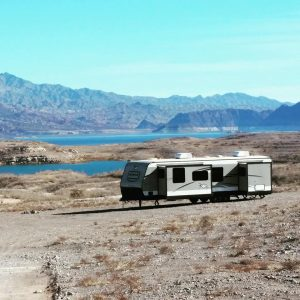 Boondocking at Lake Meade Las Vegas