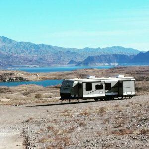 Boondocking at Lake Meade Las Vegas