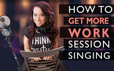How to get more session singing work