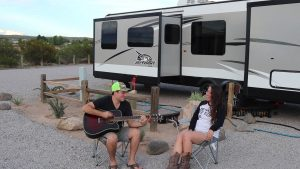 guitar live music RV