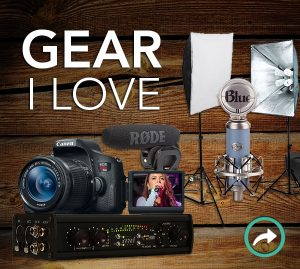 gear for a youtuber